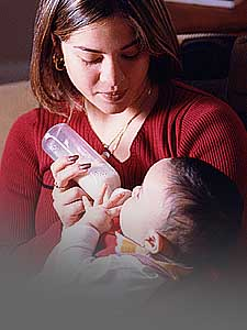 Real Alternatives mother and child