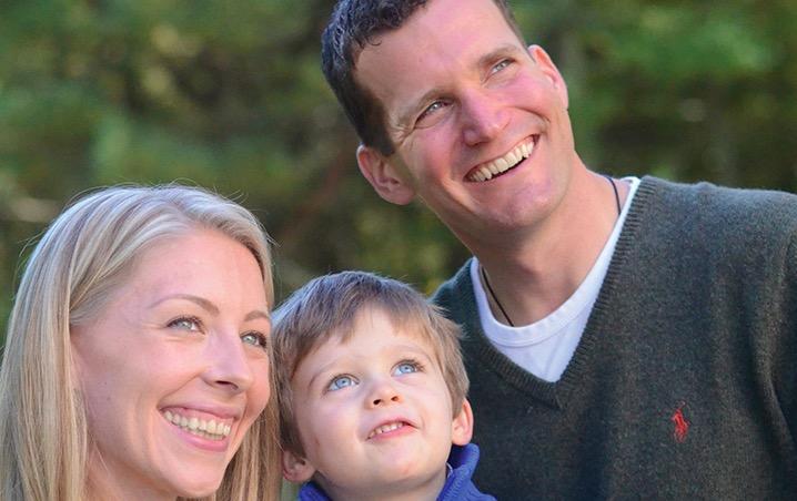 JJ Hanson & family