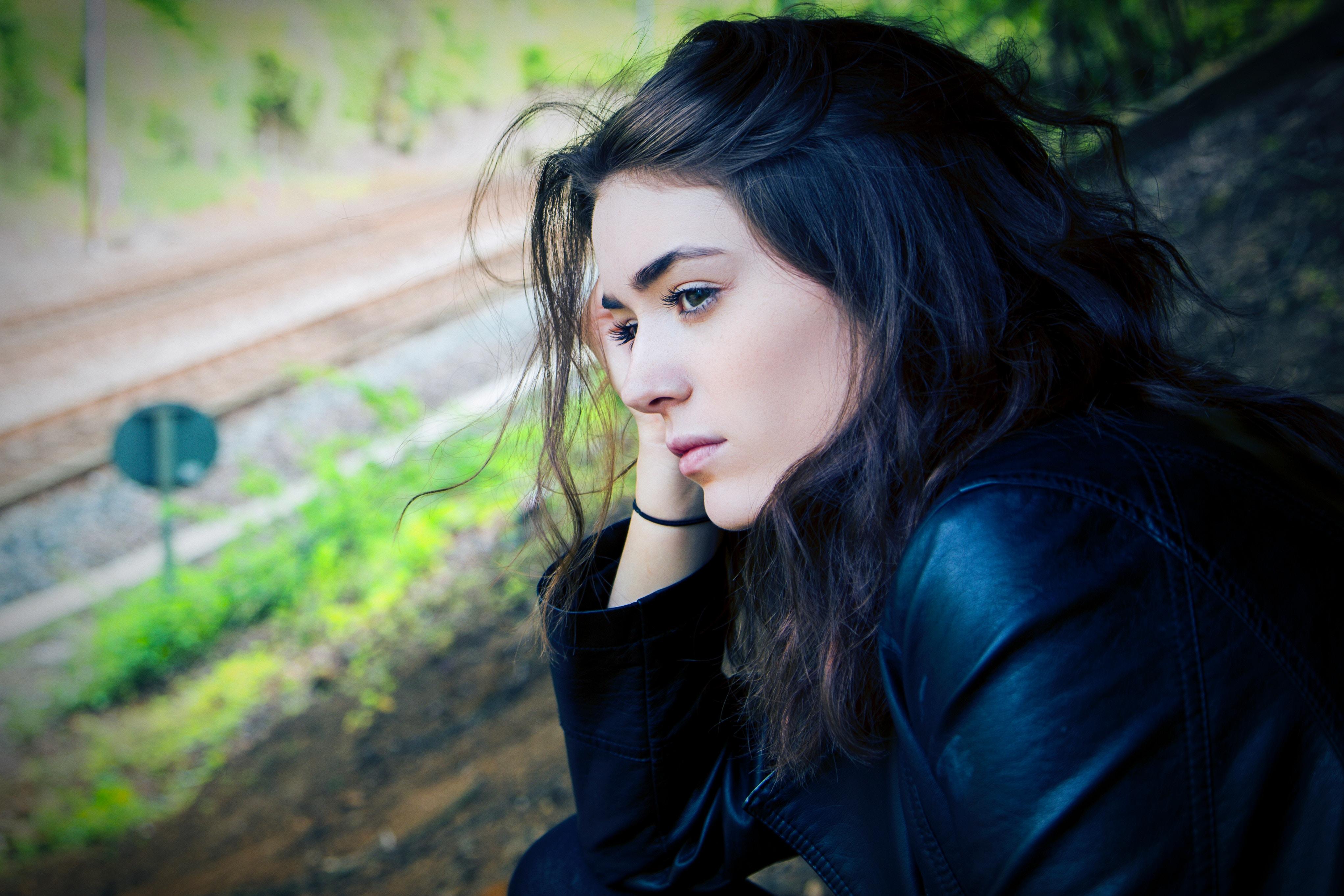 Woman--sad