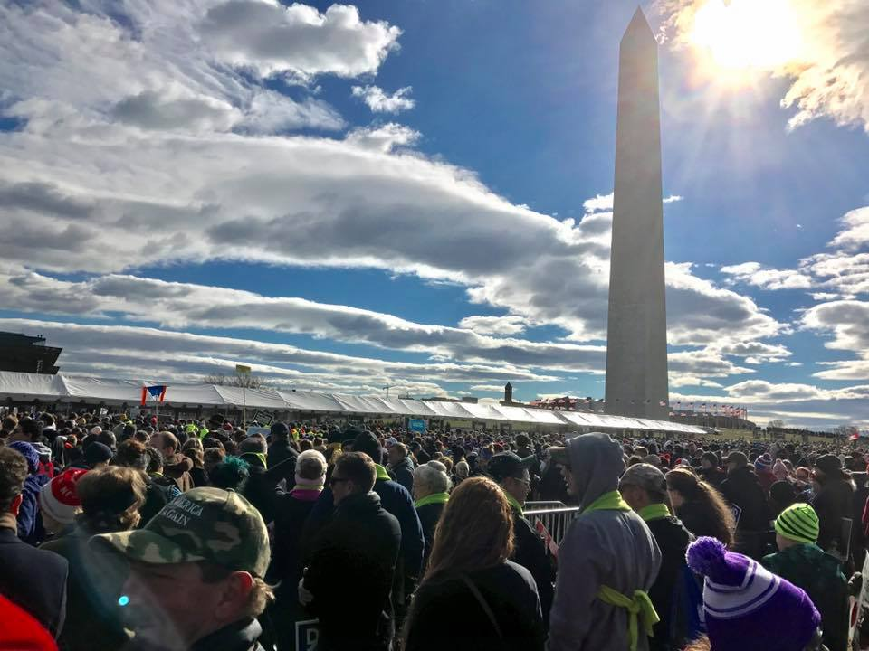 March for Life--Washington Monument