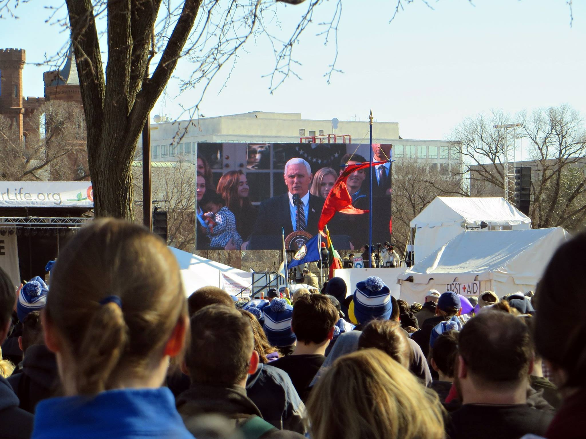 Mike Pence at March