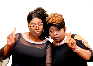 Diamond Silk promotional photo